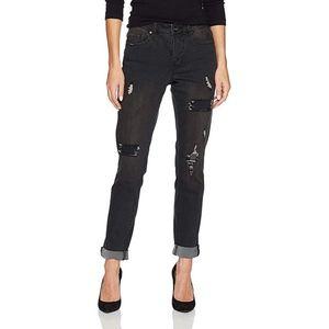 Tribal Womans Semi Distressed Slim Jeans NWT